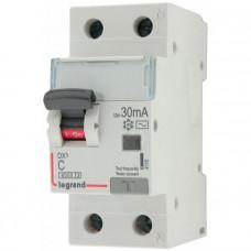 Выключатель автоматический дифференциального тока АВДТ DX3 1п+N 10А 30мА АС