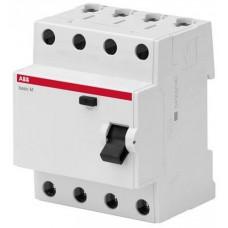 Выключатель дифференциального тока 4P, 25A, 100мA, AC, BMF42425