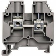 Клеммник на DIN-рейку 16мм.кв. (Серый); AVK16